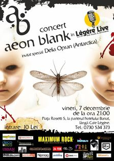 Concert Aeon Blank in Club Legere Live