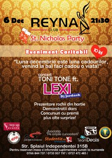 EVENIMENT CARITABIL - Saint Nicholas Party @ Reyna Club