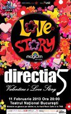 Directia 5: concerte de Valentine's Day la Teatrul National si Cinema Patria