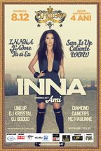 Concert INNA in Club Bamboo din Cluj Napoca!