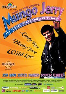 "MUNGO JERRY canta ""In The Summertime"" la Hard Rock Cafe Bucuresti!"