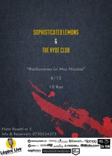 Concert Sophisticated Lemons & The Hyde Club in Legere!