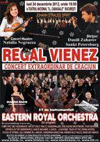 REGAL VIENEZ – Concert de Craciun la Bucuresti (+ Turneu National)
