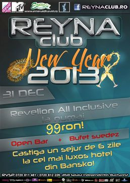 New Year's Eve 2013 @ Reyna Club