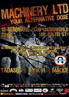Machinery LTD Party in Underworld Club!