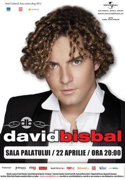 David Bisbal in Concert la Sala Palatului!