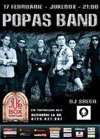 Concert Popas Band in Jukebox Venue