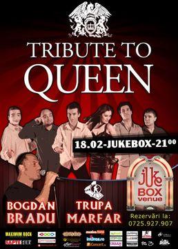 Tribute to Queen: Marfar si Bogdan Bradu in Jukebox Venue