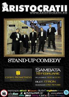 Concurs - Invitatie Tripla: Aristocratii - Stand-up Comedy!