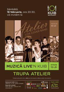Concert cu Trupa Atelier in Kuib!
