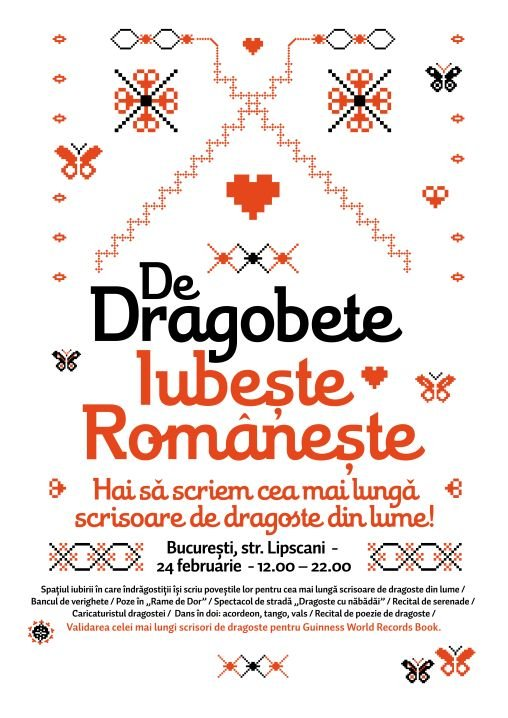 valentine's day romania