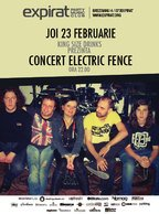 Concert Electric Fence in Club Expirat