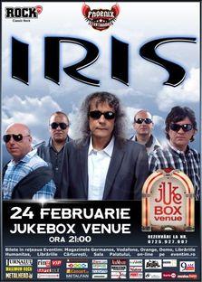 Concert Iris in Jukebox Venue