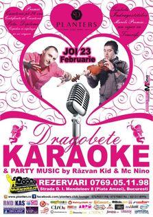 Karaoke Night – Vocea Planters de Dragobete!