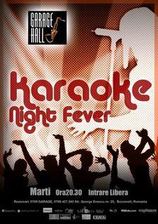 Karaoke Night in Garage Hall!