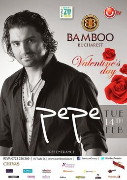 Concert PEPE de Valentine's Day in Bamboo Bucuresti!