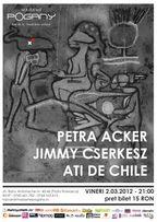 Concert Petra Acker, Jimmy Cserkész & Ati de Chile @Madame Pogany