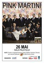 Concert Pink Martini la Sala Palatului din Bucuresti!
