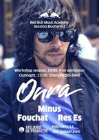 RBMA Session Bucharest: Onra Workshop & Clubnight