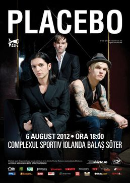 Placebo in concert la Bucuresti la Stadionul Iolanda Balas Soter