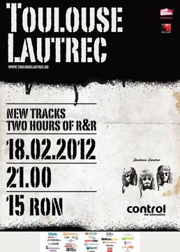 Concert TOULOUSE LAUTREC in Club Control!