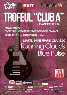 Trofeul Club A - concert live Running Clouds si Blue Pulse!