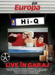 Hi-Q canta in GARAJUL EUROPA FM