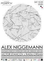 Party cu Alex Niggemann, Victor Stancov si Radu Crisan @Madame Pogany!