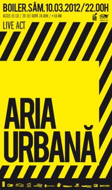 ARIA URBANA & ELECTROCLOWN [DJ-SET] in BOILER CLUB