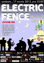 Concert Electric Fence in Coyote Cafe din Bucuresti
