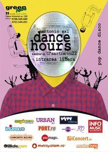 Dance Hours @ Green Hours with Antonio AXL