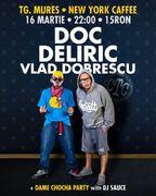 Concert DOC, DELIRIC, VLAD DOBRESCU in New York Caffe