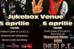Changing Skins canta in deschiderea concertului (HED) P.E. din Jukebox Venue