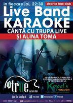 Live Band Karaoke in True Club!