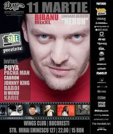Concert lansare Bibanu MixXL - Nebun in Wings Club