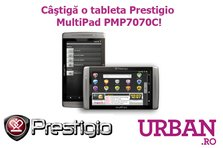 Concurs! Castiga o tableta Prestigio MultiPad PMP7070C!