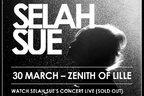 Vezi LIVE concertul Selah Sue de la Lille (exclusiv in Romania)!