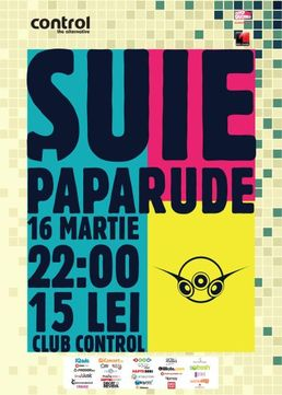 Concert SUIE PAPARUDE @ Club Control