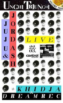 UNGHI TRIUNGHI# 4 cu JUJU & JORDASH LIVE si KHIDJA & DREAMREC in Control