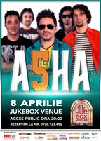 Concert trupa ASHA in Jukebox Venue