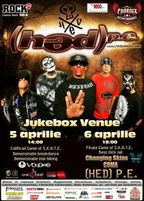 Concert (HED) P.E. in Jukebox Venue si Game of S.K.A.T.E. (program)