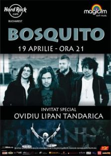 Concert Bosquito si Ovidiu Lipan Tandarica la Hard Rock Cafe