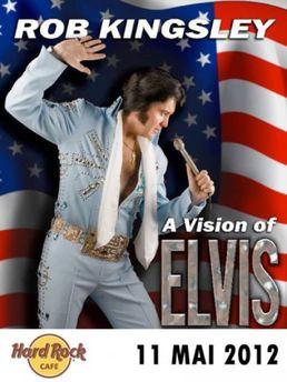 Tribut ELVIS Presley in Hard Rock Cafe din Bucuresti!
