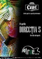 Concert Directia 5 in True Club din Bucuresti