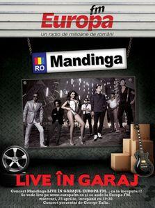 Mandinga in concert la Garajul Europa FM!
