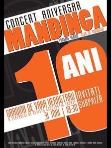 Concert aniversar Mandinga 10 ani. Lansare album Club de Mandinga! (concert amanat)