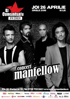 Concert: Manfellow in El Comandante Primer
