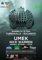 Ministry of Sound: UMEK si Nick Warren la Turbohalle din Bucuresti