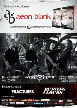 Concert lansare album Aeon Blank in Wings Club