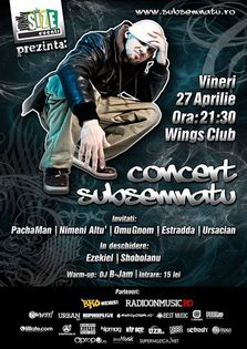 Concert SUBSEMNATU in Wings Club din Bucuresti